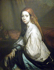 Portrait de Pauline Ono en déshabillé