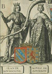 Jean de Bourgogne Agnes de Bourbon.jpg