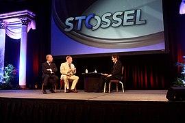 Jeffrey Tucker, Ben Powell & John Stossel (9268273300).jpg