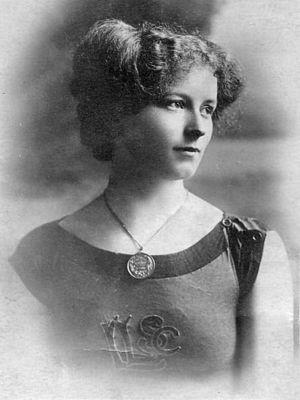 Jennie Fletcher - Jennie Fletcher, c. 1905