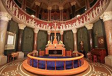 Altare protestante a Copenaghen