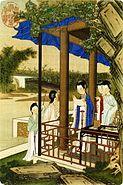 Jiao Bingzhen - Paintings of Ladies - Leaf 2
