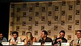 Jim Parsons, Johnny Galecki, Simon Helberg, Kunal Nayyar, Kaley Cuoco, Bill Prady (The Big Bang Theory) 3781590925.jpg