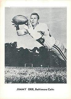 Jimmy Orr American football player