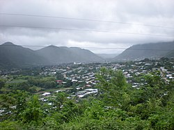 Jinotega City (from the southeast).