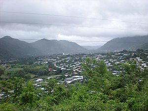 Jinotega Ceety (frae the sootheast).