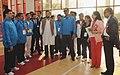 Jitendra Singh during the launch of the National Youth Policy, 2014 (NYP) and Rajiv Gandhi Khel Abhiyan (RGKA), a Centrally Sponsored Plan Scheme, at the Jawaharlal Nehru Stadium, in New Delhi. Shri Rahul Gandhi, MP.jpg