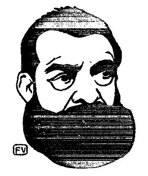 João de Deus - Portrait by Félix Vallotton