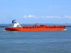 Jo Acer p5 approaching Port of Rotterdam, Holland 08-Jul-2007.jpg