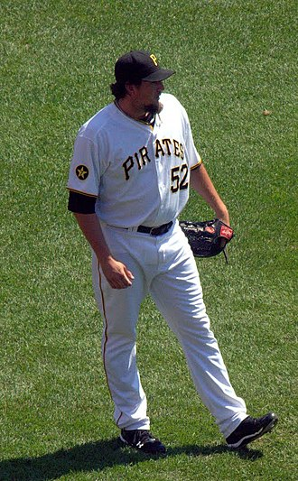 Joel Hanrahan - Hanrahan with the Pittsburgh Pirates in 2011