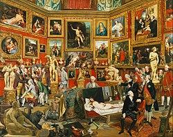 Johann Zoffany: Tribuna of the Uffizi