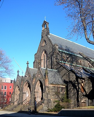 Bergen Hill, Jersey City - St. John's Episcopal on Summit Ave.