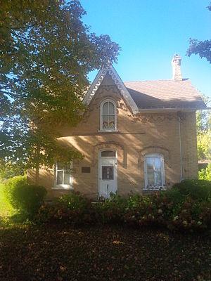 John Diefenbaker - John Diefenbaker's birthplace