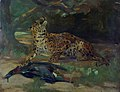 John Macallan Swan - Leopard and Bird.jpg
