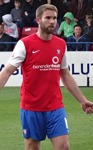 John McCombe - McCombe playing for York City in 2014