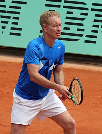 John McEnroe - McEnroe at the 2012 French Open in which he won the senior doubles event with his brother Patrick