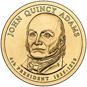 Presidential $1 Coin Program coin for John Qui...