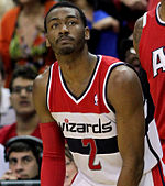 John Wall during a game for the Washington Wizards