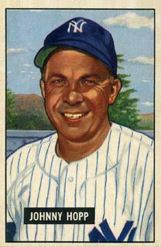 Johnny Hopp - Hopp with the Yankees