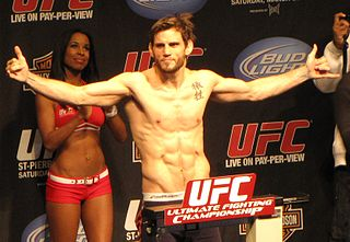 Jon Fitch American mixed martial arts fighter