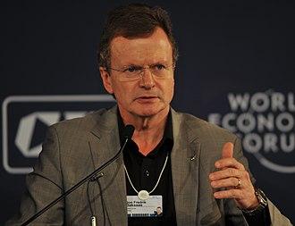Jon Fredrik Baksaas - Jon Fredrik Baksaas at the World Economic Forum India Economic Summit in 2010