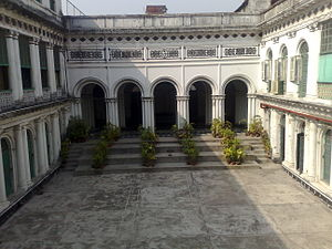 Jorasanko Thakur Bari - Inner verandah of the Mansion