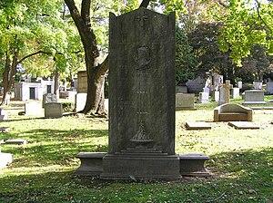 Josef Stránský - The headstone of Josef Stránský in Woodlawn Cemetery, Bronx, NY