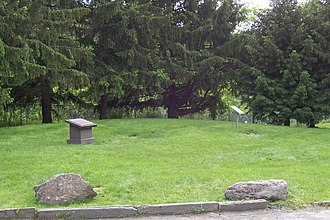 Priesthood Restoration Site - Site of the Joseph Smith home, before its reconstruction