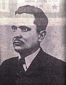 Tito negli anni '30. Fototessera di un suo documento falso