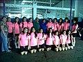 Jovencitas de Centro Escolar beneficiadas por donación de uniformes e implementos deportivos.jpg