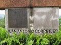 Juan Antonio Corretjer monument base at lookout in Ciales, Puerto Rico.jpg
