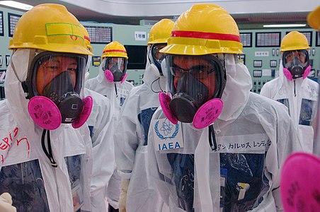 IAEA expert team visited TEPCO's Fukushima Daiichi Nuclear Power Station