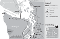 Juan de Fuca transmission project map.png