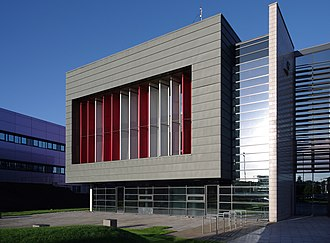 Spatial analysis - The Nottingham Geospatial Building on the University of Nottingham's Jubilee Campus.