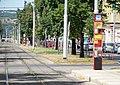 Jugoslávských partyzánů, tramvajové zastávky.jpg