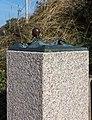 Juist, Skulptur -Strandläufer- -- 2014 -- 3593.jpg