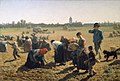 Jules Adolphe Aimé Louis Breton, The Gleaners, 1854. National Gallery of Ireland.jpg