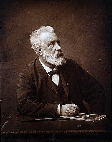 Жюлю Верну 64 года, 1892 год