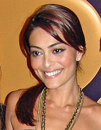 Brazilian actress Juliana Paes.