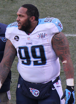 Jurrell Casey - Casey with the Tennessee Titans in 2013