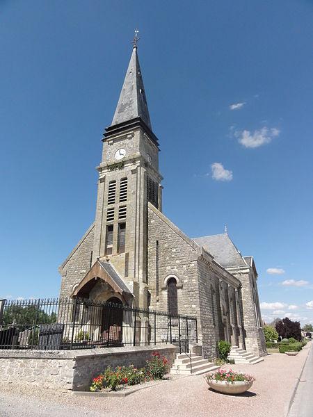 Juvincourt-et-Damary (Aisne) église
