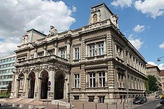 Miklós Ybl - Image: Károlyi Palace, Budapest