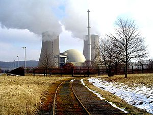 Grohnde Nuclear Power Plant - Image: KKW Grohnde