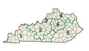 Jackson Purchase - Kentucky congressional districts