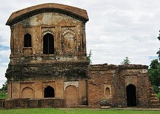 Dimasa people - Baroduwar Dimasa Kachari Palace, Khaspur in Cachar dist
