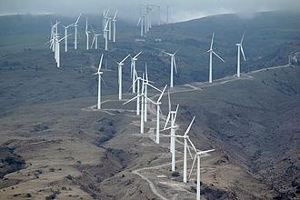 Wind power in Hawaii - Kaheawa Wind Power