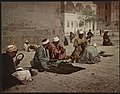 Kairo, coiffeurs Arabes dans la rue LCCN2017657444.jpg