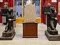 Kairo Museum Stele Ramses I. Horus Seth 02.jpg