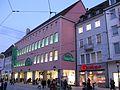 Kaiser-Joseph-Straße in Freiburg, Kaufhof und Gruninger.jpg