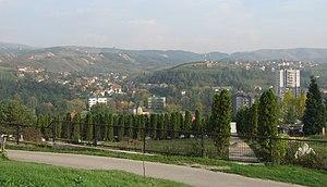 Kakanj - View of Kakanj.